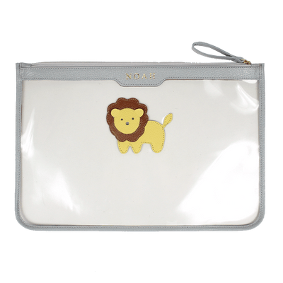 merci-with-love-pasta-a4-crystal-cinza-claro-little-lion-frente
