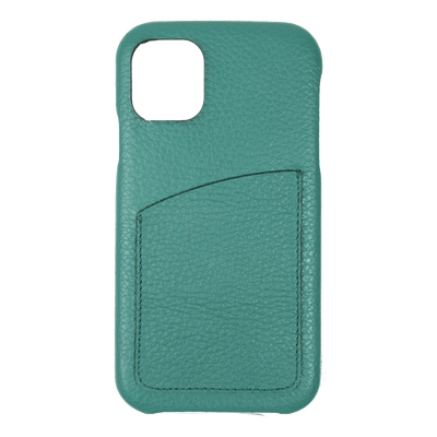 merci-with-love-case-iphone-11-com-porta-cartao-esmeralda-frente