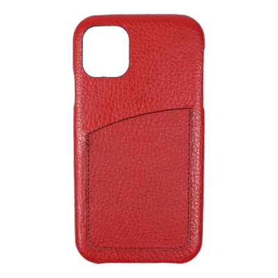 merci-with-love-case-iphone-11-com-porta-cartao-vermelho-liso-frente