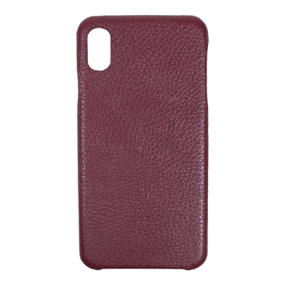 merci-with-love-case-iphone-xs-max-burgundy-liso-frente