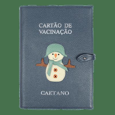 merci-with-love-porta-cartao-de-vacina-boneco-de-neve-oceano-boneco-de-neve-jade-liso-frente