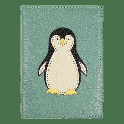 merci-with-love-porta-passaporte-pinguim-jade-frente