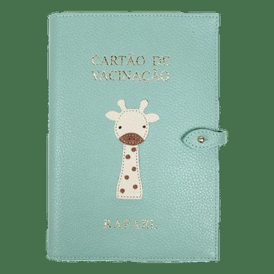 merci-with-love-porta-cartao-de-vacina-girafinha-masculino-menta-liso-girafinha-masculino-off-white-liso-caramelo-liso-frente